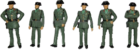 Guardia Civil. Años 60